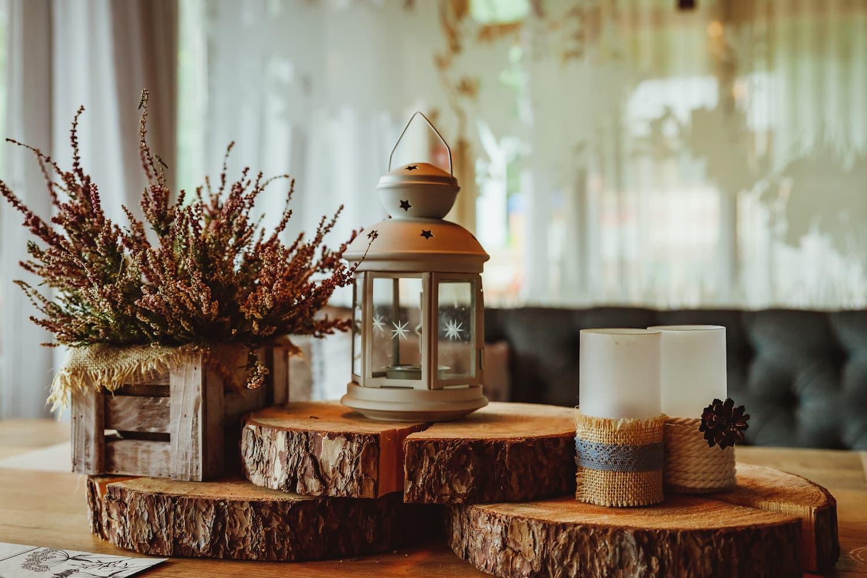 objets en bois décoratifs