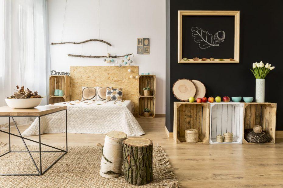 objets en bois décoration