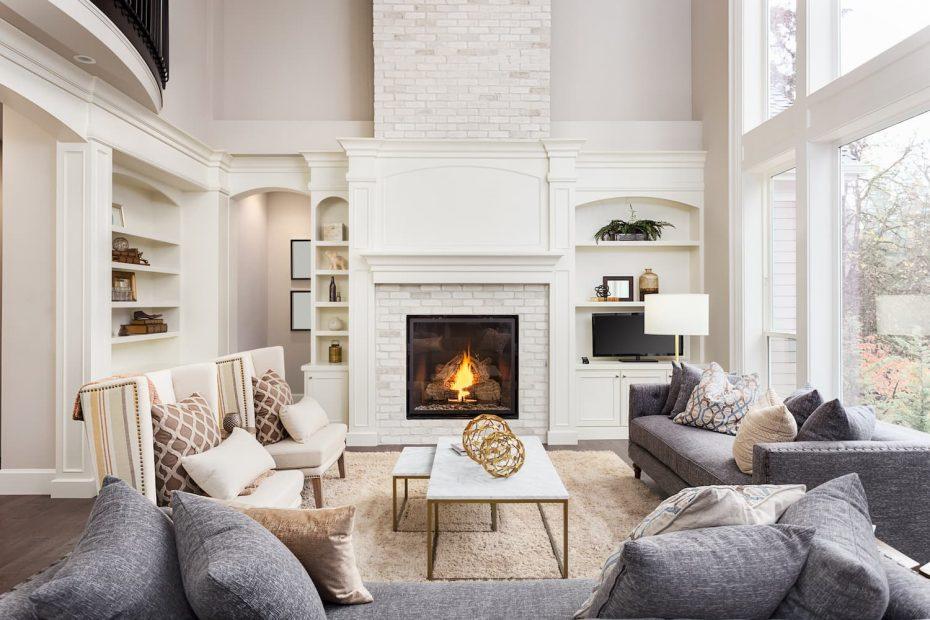 fausse cheminée décorative
